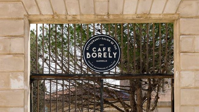 Marseille - Café Borély