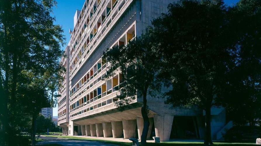 Marseille - La Cité radieuse - Le Corbusier