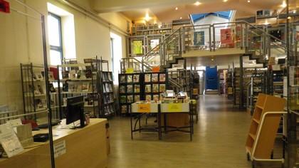 Marseille - Bibliothèque des cinq-avenues