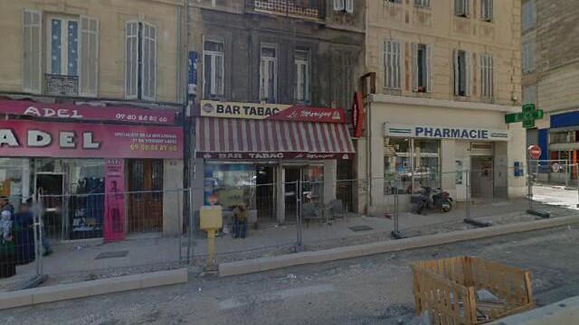 Marseille - Bar Tabac le Marigny