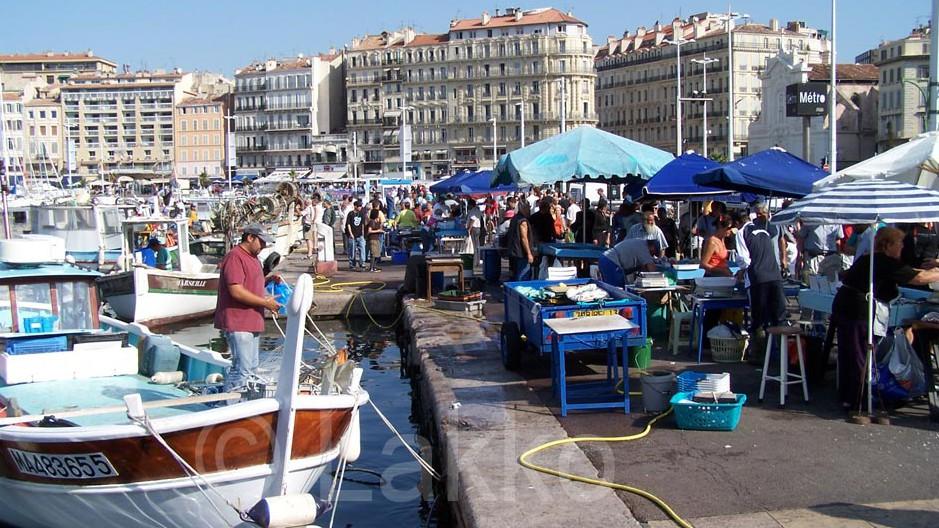 Marseille - Marché aux Poissons