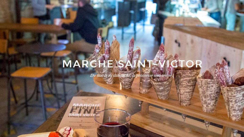 Marseille - Marché Saint-Victor