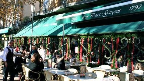 Marseille - Brasserie Les Deux Garçons