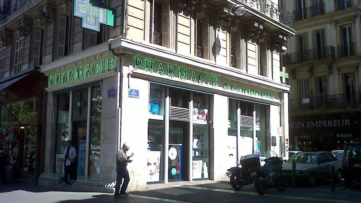 Marseille - Pharmacie du Cours St Louis