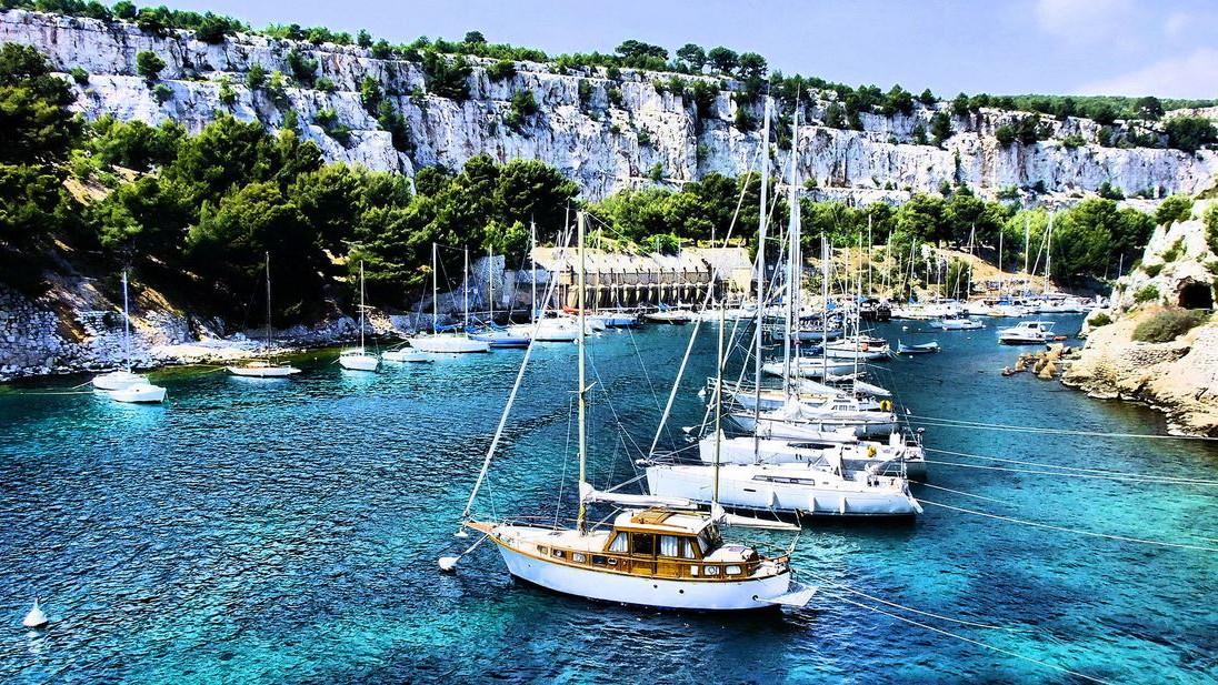 Marseille - La Calanque de Port-Miou