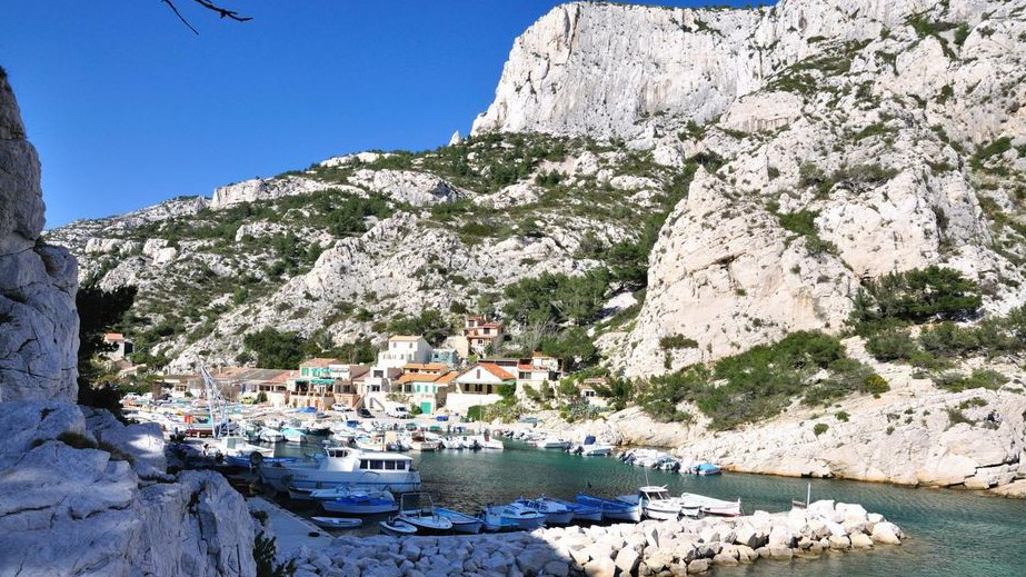Marseille - La Calanque de Morgiou