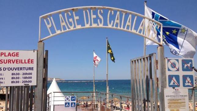 Marseille - Plage des Catalans
