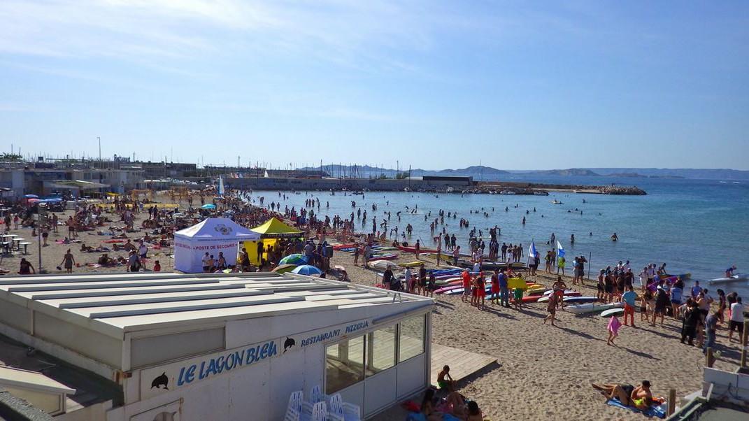 Marseille - Plage de la Pointe Rouge