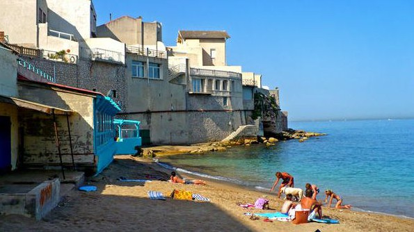 Marseille - Plage de l'Abri Côtier