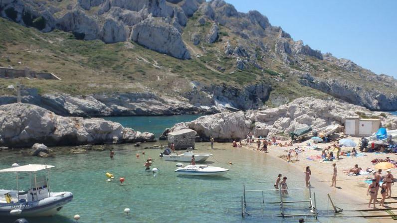 Marseille - Plage la Baie des Singes