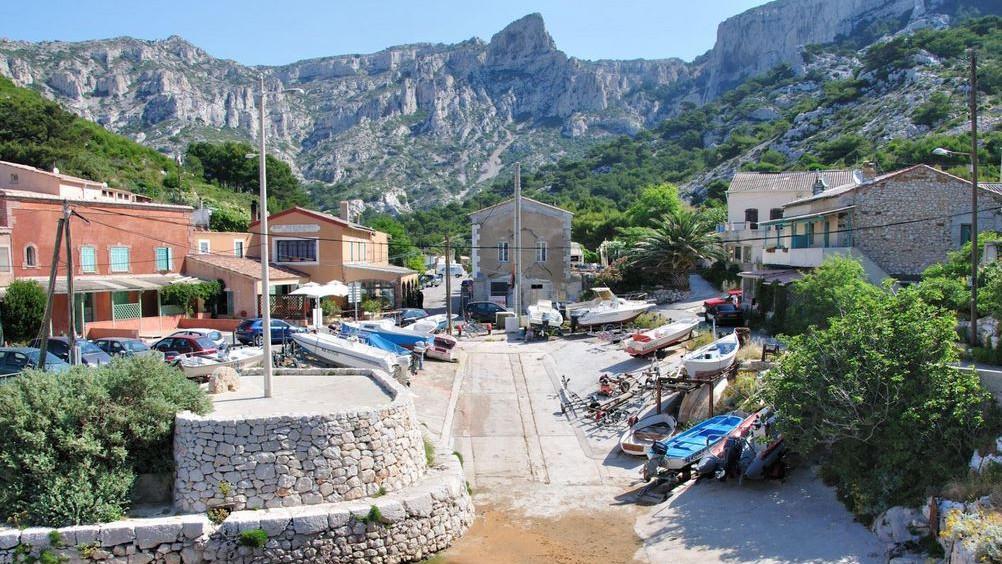 Marseille - Calanque de Callelongue
