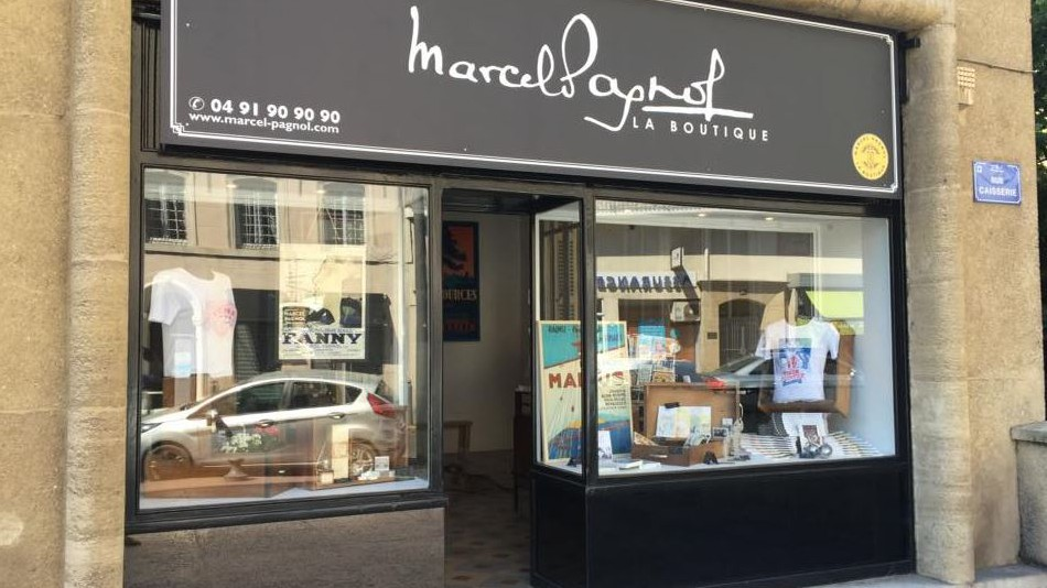 Marseille City Life - MARCEL PAGNOL - LA BOUTIQUE