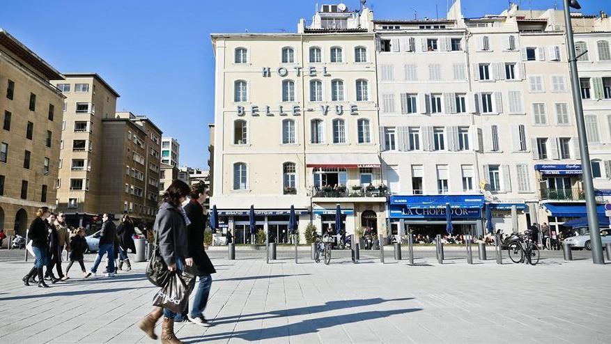 Marseille - Hôtel Belle-vue