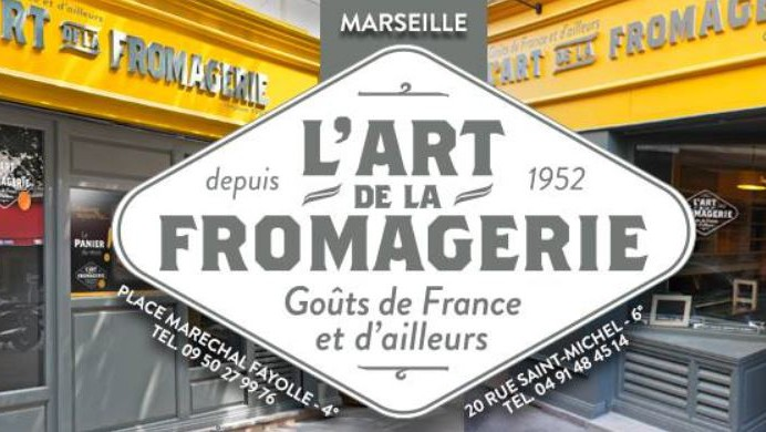 Marseille - L'Art de la Fromagerie St Michel