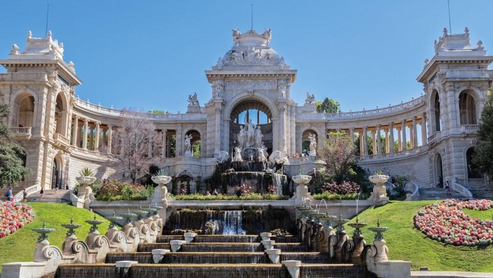 Marseille - Le Palais Longchamp